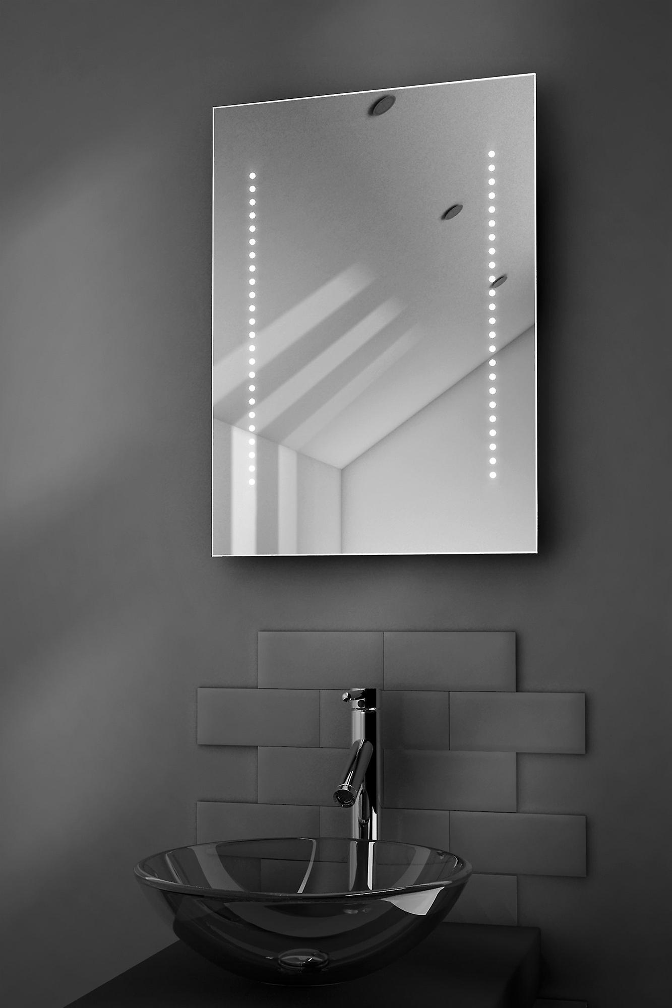 Gaze Shaver LED Bathroom Mirror With Demister Pad & Sensor k10s