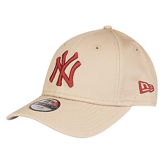 Nouvelle ère 9Forty enfants Cap - New York Yankees beige