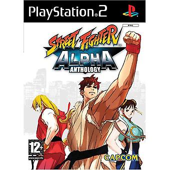 Street Fighter Alpha Anthology (PS2) - New Factory Sealed