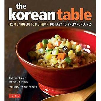 Tabellen koreanske - fra grill til Bibimbap 100 let at forberede Recip