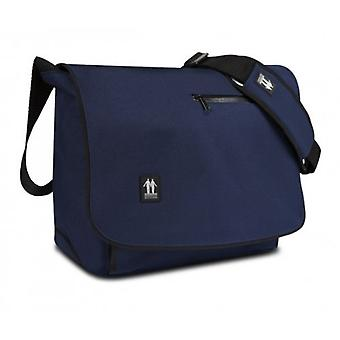 "Walk on water mega bag suburbia bag Pu leather for LapTop 13.3 ""dark blue"