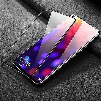 Per Huawei honor vista 20 / V20 2 x 0,3 mm H9 di vetro duro nero premium 3D slide nuovo coperchio di protezione