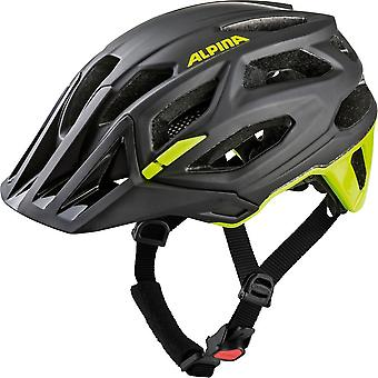 Alpina Garbanzo Fahrradhelm // black/neon-yellow