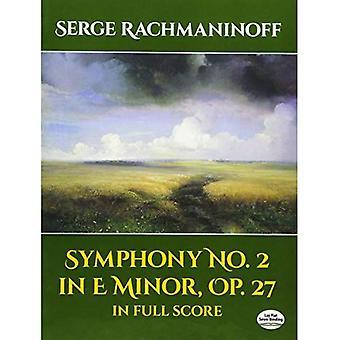 Symfonie nr. 2 in E mineur, Op. 27, in volledige Score