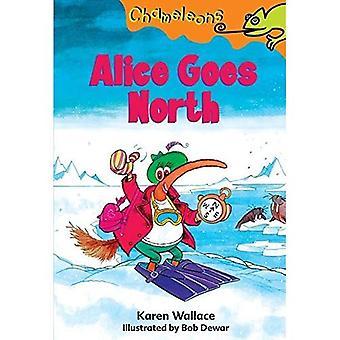 Alice gaat Noord (kameleons)