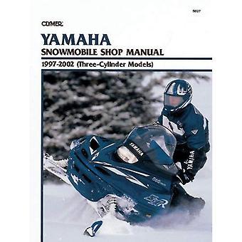Clymer Yamaha Snowmobile Shop Manual 1997-2002 (Three-Cylinder Models)