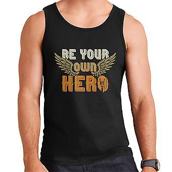Be Your Own Hero Rock On Men's Vest