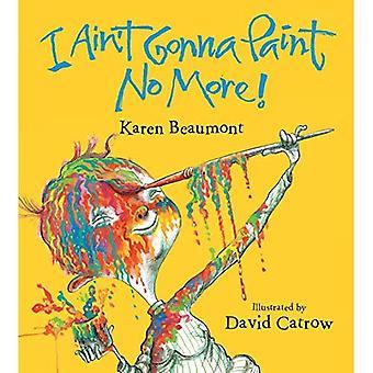 Nie będzie do malowania No More! (Board Book) [Zarząd książki]