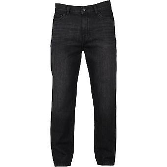 Denim de jeans pour hommes urbains classiques baggy