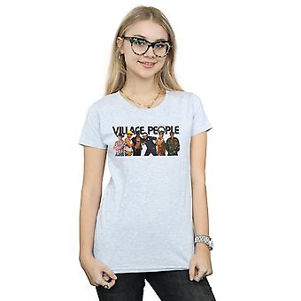 Village People Women's Group Photo T-Shirt