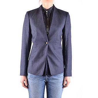 Jacob Cohen Ezbc054206 Damen's Blaue Wolle Blazer