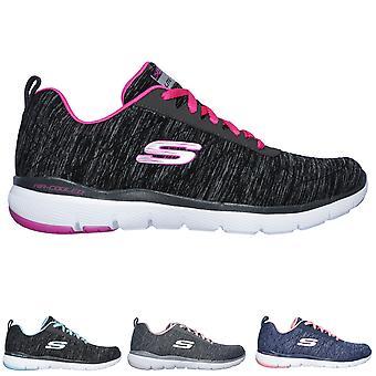 Walking lekkie buty sportowe damskie Skechers Flex odwołania 3.0 wewnętrznych