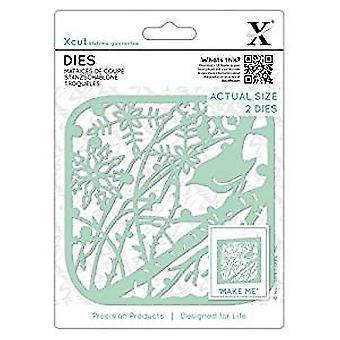 Xcut Dies Winter Robin (2pcs) (XCU 503359)