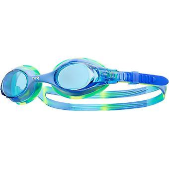 أطفال السباحة التعادل صبغ نظارات