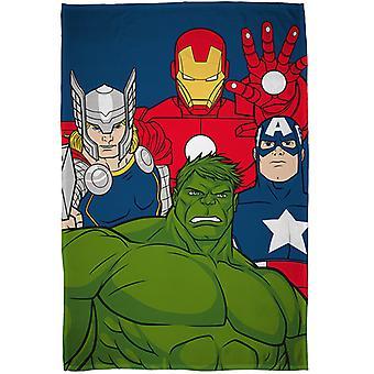 Marvel Avengers missie fleece deken