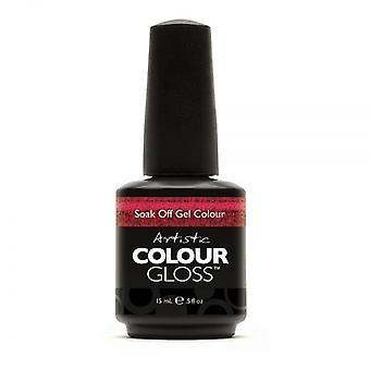 Artistic Colour Gloss Soak Off Gel Polish - Hotness
