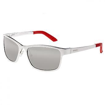 Rasse-Hydra-Aluminium polarisierten Sonnenbrillen - Silber/Silber