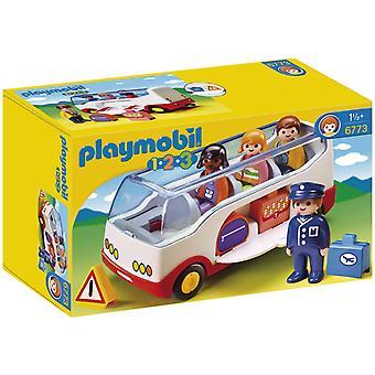 PLAYMOBIL 1.2.3-Flughafen-Shuttle-Bus 6773