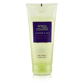 4711 Acqua Colonia Saffron & Iris Aroma Shower Gel 200ml/6.8oz