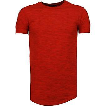 Sleeve Garter-T-Shirt-Red