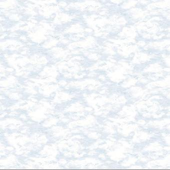 Blue Coral Grey White Sky Clouds Wallpaper Watercolour Effect Paste Wall Holden