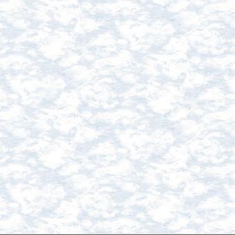 Coral Blue Sky Clouds Wallpaper Effet Aquarelle Pâte Mur Holden Decor Kumo