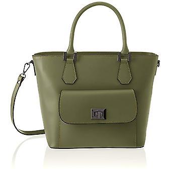 Chicca Bags 8855 Women's shoulder bag (Green) 37x25x17 cm (W x H x L)