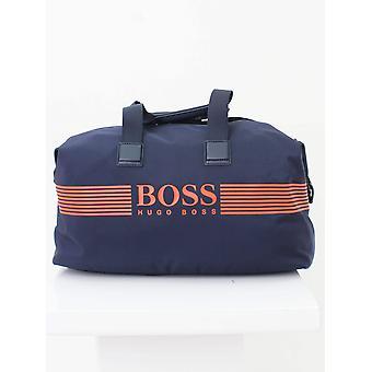 Boss pixel Holdall-Navy
