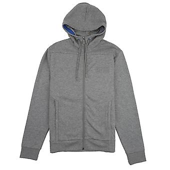 Hugo Boss saggy prægede logo hoodie grå