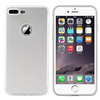 iPhone 8 Plus and 7 Plus Silver Case CoolSkin Slim