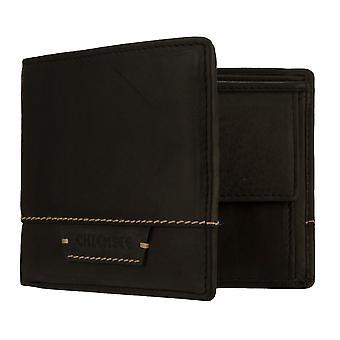 Chiemsee Men's Purse Wallet Purse Black 8190