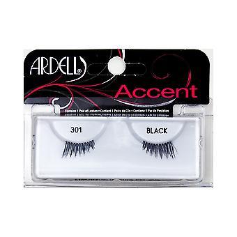 Ardell pestañas accent #301-zwart voor vrouwen
