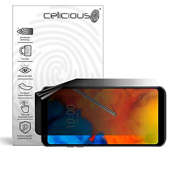 Celicious Privacy Lite (Landscape) 2-Way Anti-Glare Anti-Spy Filter Screen Protector Film Compatible with LG Q Stylus
