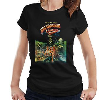 Big Trouble in Little China Movie Poster Women's T-Shirt