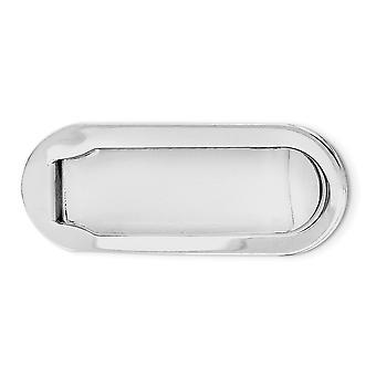 925 Sterling Silber poliert Rhodium vergoldet Geld Clip Schmuck Geschenke für Männer - 14,0 Gramm