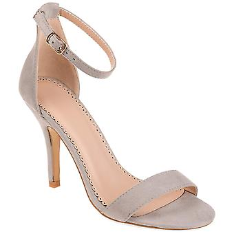 Brinley Co. Womens Open-Toe Ankle-Strap Pump