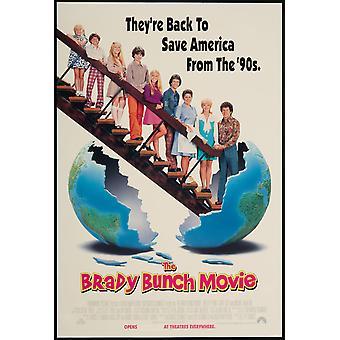 The Brady Bunch (1995) Original Cinema Poster (The Brady Bunch) Original Cinema Poster (The Brady Bunch)