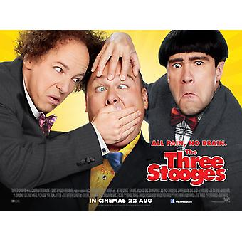 The Three Stooges Poster Double Sided (Quad) (2012) Original Cinema Poster