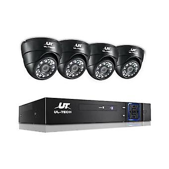 1080P Eight Channel CCTV Security Camera (4 Pcs)