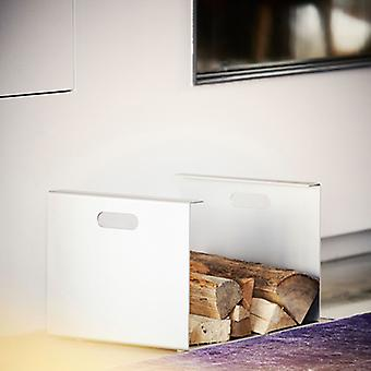Jan Kurtz Heizer schoorsteen hout drager aluminium 50 x 35 x 30 cm