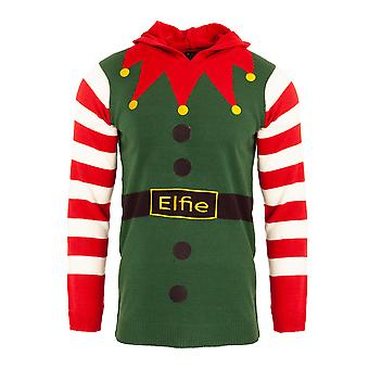 Brave Soul Womens/Ladies Christmas Elfie Costume Jumper