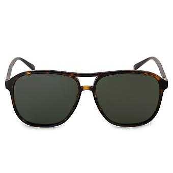 Gucci Polarized Aviator Sunglasses GG0016S 007 58