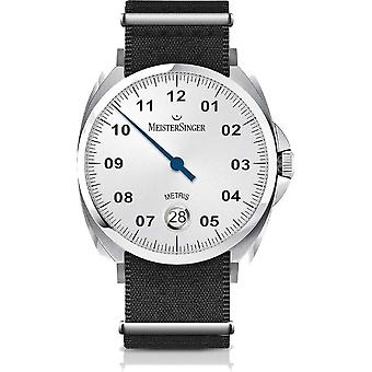 MeisterSinger Men's Watch Classic Plus Metris One-Hand Watch Automatic ME901_SNY01