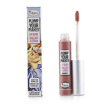 Thebalm Plum Your Pucker Lip Gloss - # Dramatize - 7ml/0.237oz