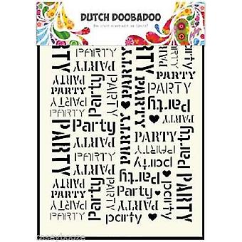 Dutch Doobadoo Party A5 Stencil Mask 470.715.039