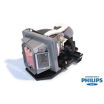 Lampada per proiettore di sostituzione potenza Premium con lampadina Philips per Dell 331-2839