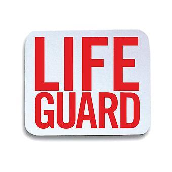 White mouse pad pad wtc1740 life guard