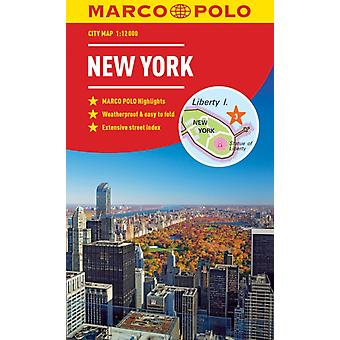 New York Marco Polo City Map  pocket size easy fold New Y