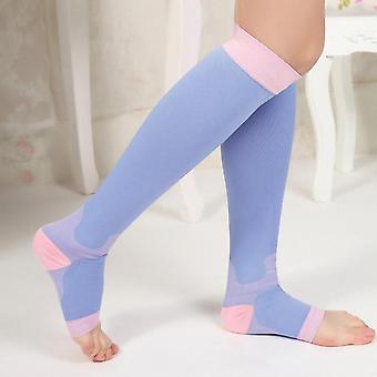 8-18mmHg Night 'Slimming' Compression Leggings (Pair)