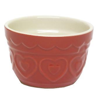 GISELA GRAHAM Gisela Graham Bowl 36988 Red